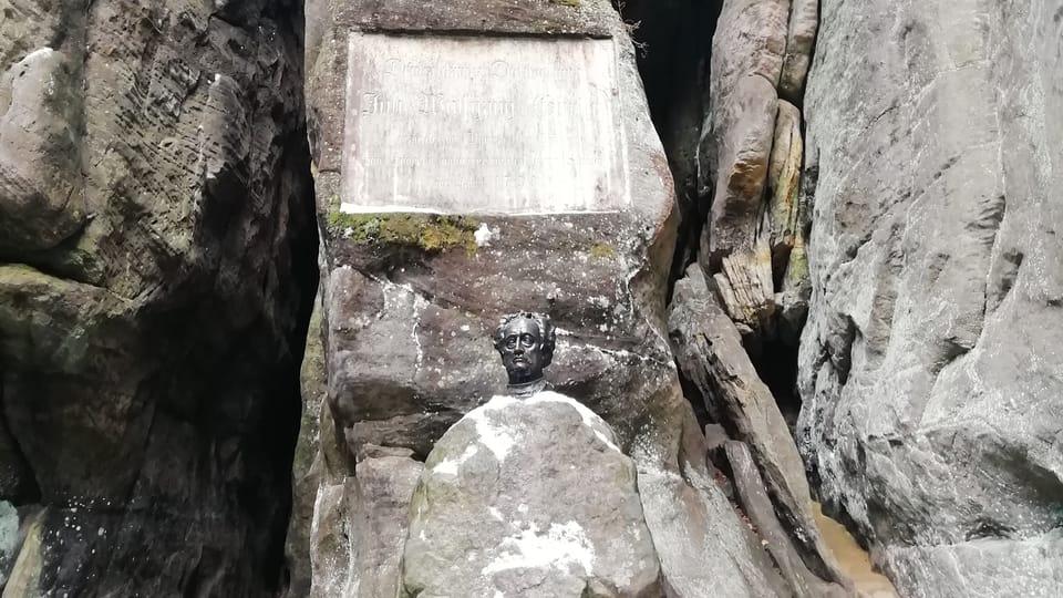 Johann Wolfgang Goethe's bust,  photo: Joseph Le Fer