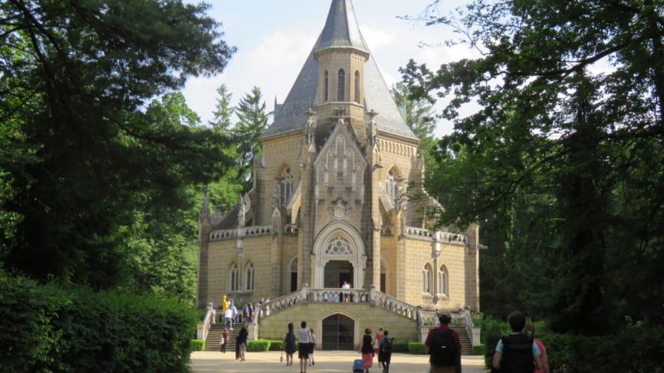 Schwarzenberg tomb,  photo:  Lucie Pelikánová,  Czech Radio