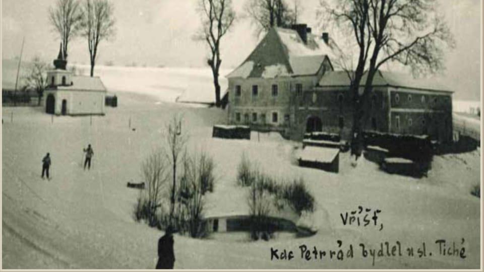 Panský dům na Vříšti  (after 1935)   Photo: Private collection
