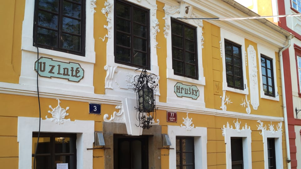 "House ""At the Golden Pear"",  photo: Czech Radio - Radio Prague International"