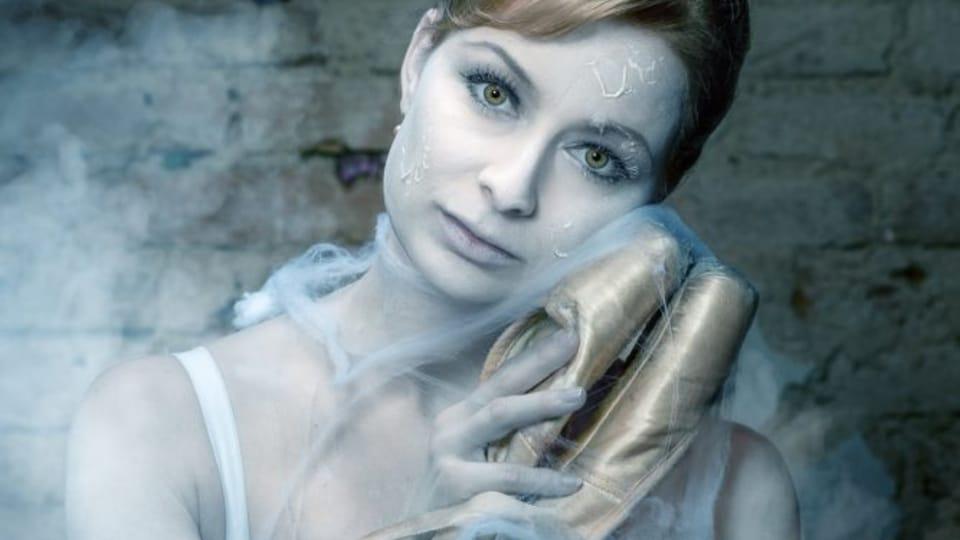 Ballet dancer Marika Mikanová,  photo: Radek Drbohlav