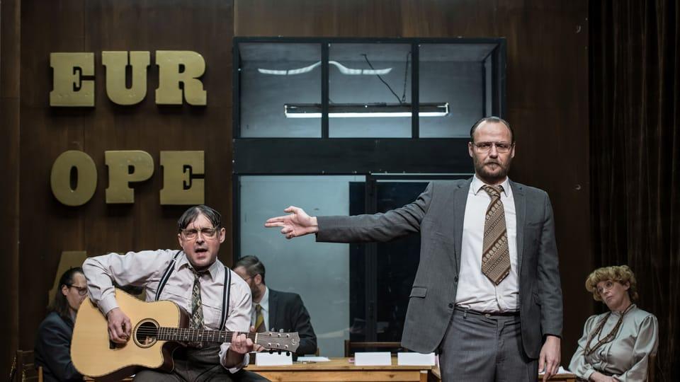 Europeana in Theatre Na Zábradlí,  photo: Vladimír KIVA Novotný