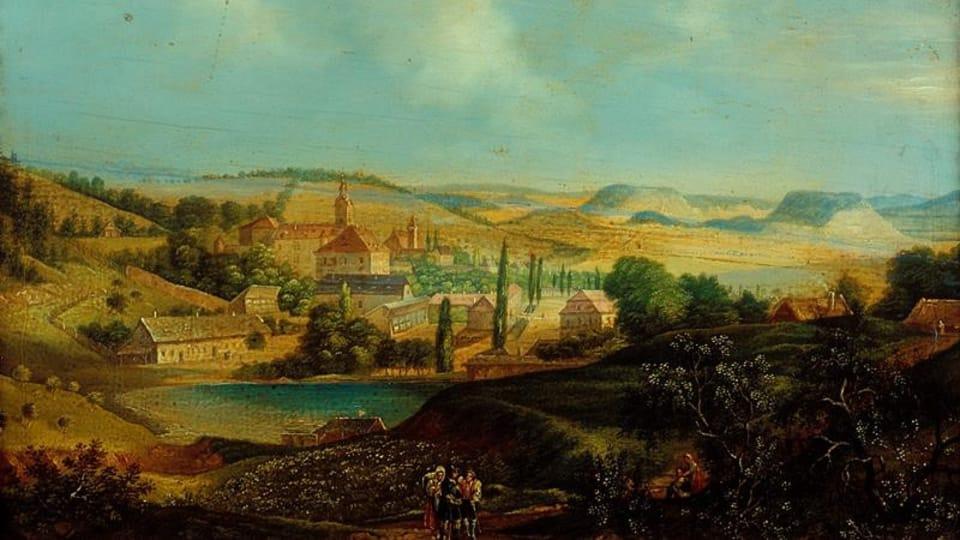 František Richter: Lysice  (1842)   Photo: Moravian Gallery Brno