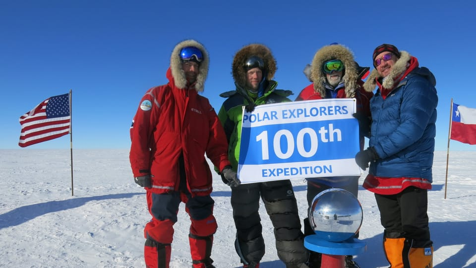 Expedition to South Pole 2020 reached the aim,  photo: Archive of Zdeněk Chvoj