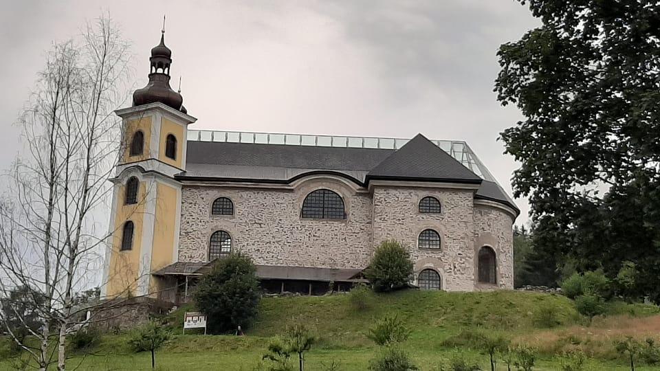 Neratov church,  photo: Lenka Žižková