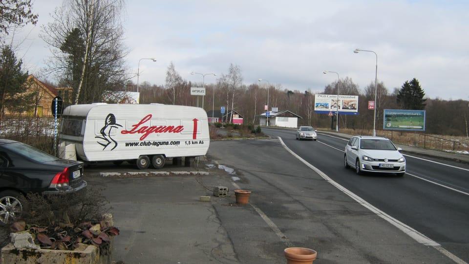 Aš,  German border,  photo: Dominik Jůn