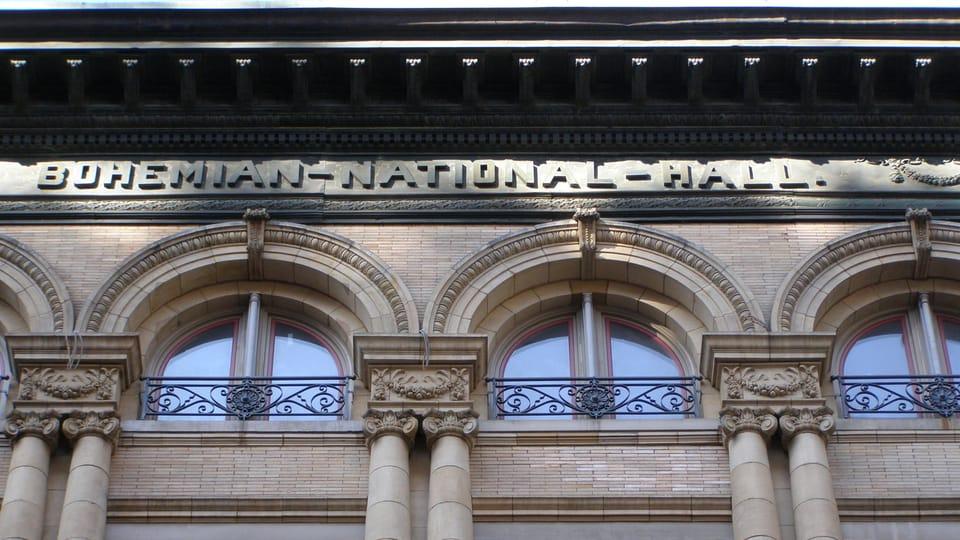 Bohemian National Hall,  photo: Ian Willoughby