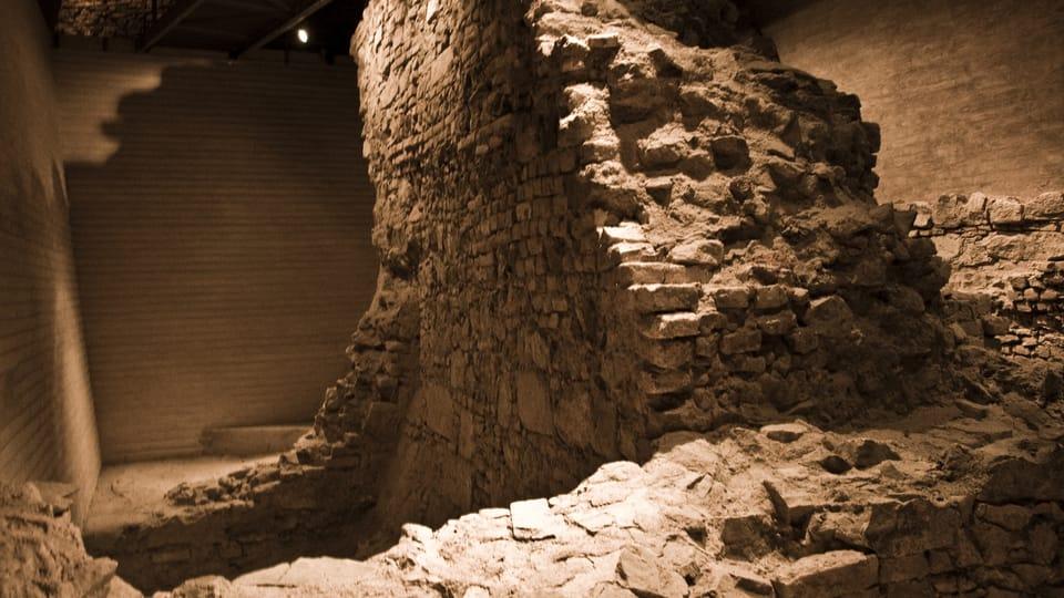 Špilberk - reconstructed interior of the south-west bastion,  photo: Vít Pohanka