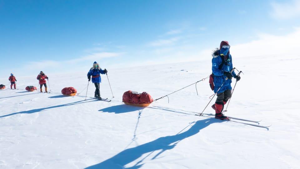 On the way to South Pole,  photo: Archive of Zdeněk Chvoj