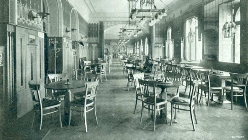 Café Louvre,  photo: archive of Café Louvre