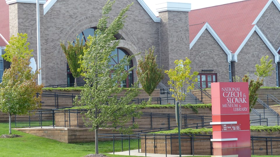 National Czech and Slovak Museum and Library in Cedar Rapids,  photo: Klára Stejskalová