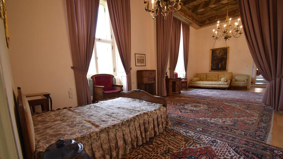 Jan Masaryk's apartment in Černín Palace,  photo: Ondřej Tomšů