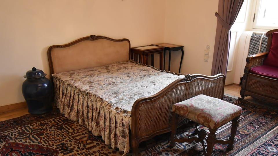 Jan Masaryk's apartment at the Foreign Ministry's Černín Palace,  photo: Ondřej Tomšů