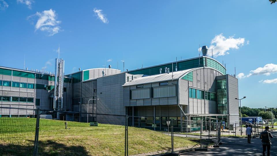 Novavax plant near Kostelec nad Černými lesy,  photo: archive of the Office of Czech Government