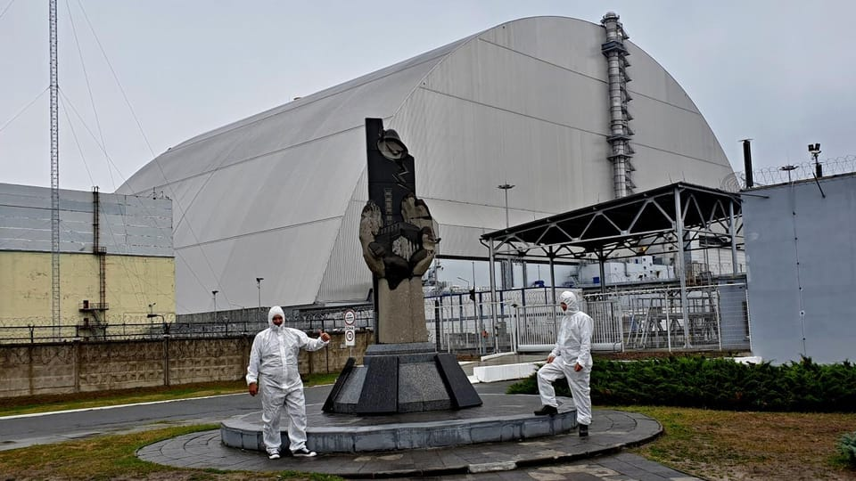 Chernobyl sarcophagus,  photo: Michal Franc