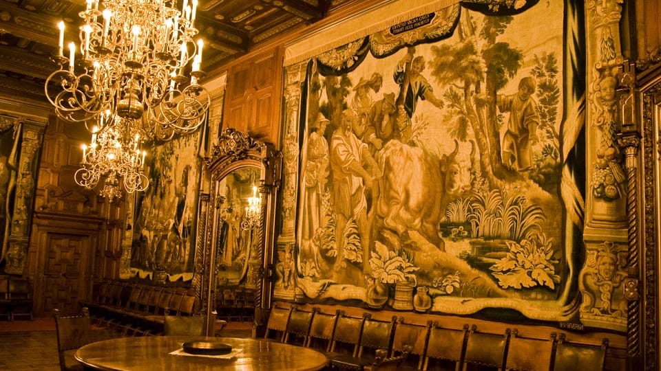 One of the tapestries at Hluboká Castle,  photo: Vít Pohanka / Czech Radio