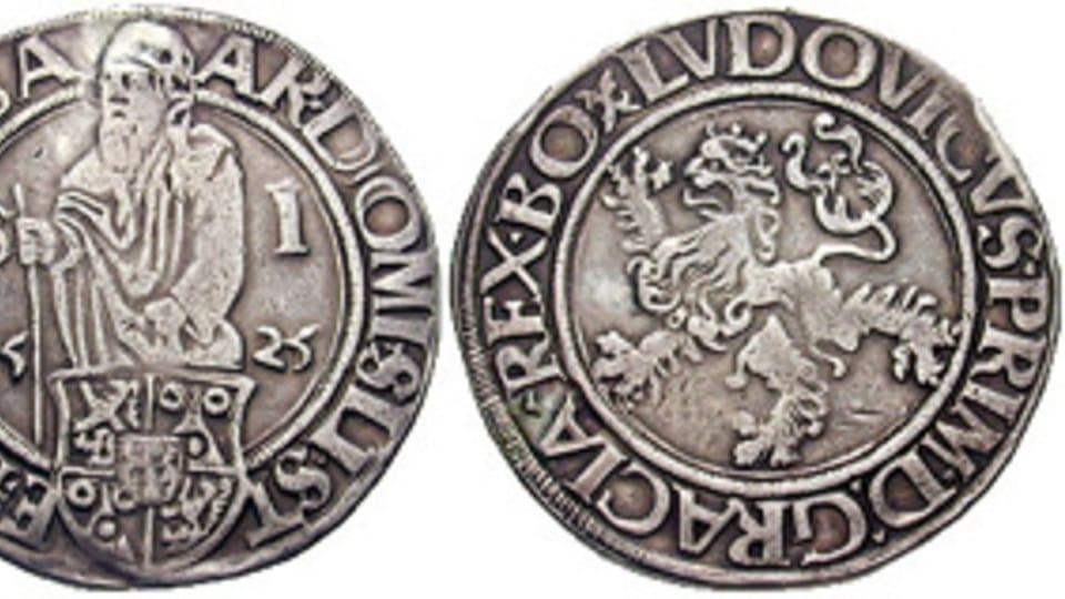 Tolar,  photo: Classical Numismatic Group,  CC BY-SA 3.0 Unported