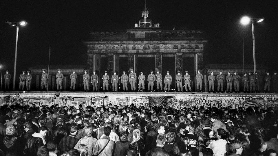 The fall of Berlin Wall,  photo: Jan Šibík
