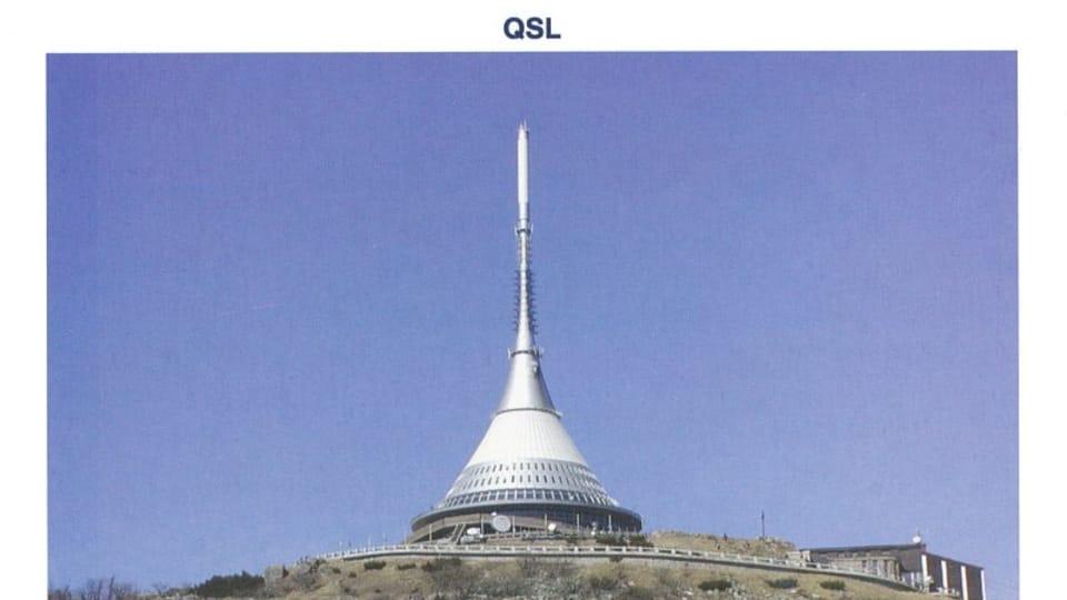 Ještěd - television transmitter,  photo: CzechTourism