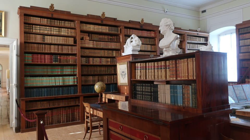Kynžvart Chateau library,  photo: Martina Schneibergová