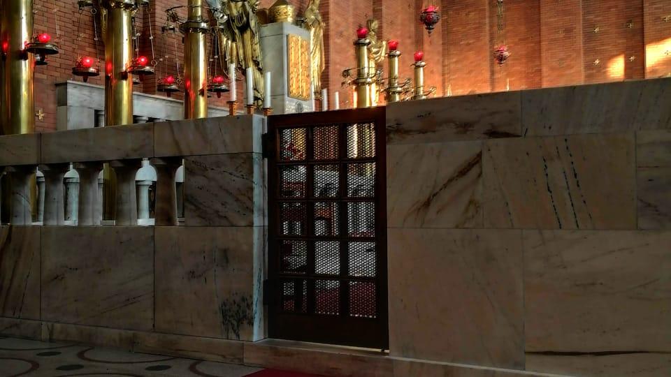 Church of the Most Sacred Heart of Our Lord at Jiřího z Poděbrad Square in Prague,  photo: Štěpánka Budková