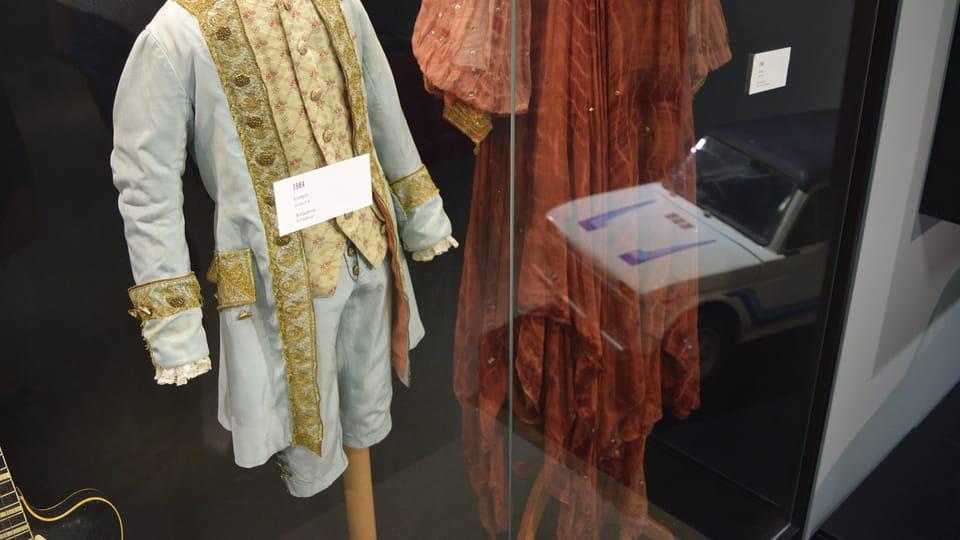 A costume from 'Amadeus',  photo: Ondřej Tomšů