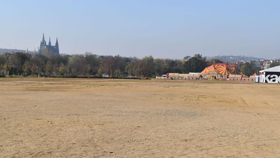 Letná plain today,  photo: Ondřej Tomšů