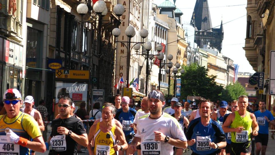 Prague International Marathon,  photo: Štěpánka Budková