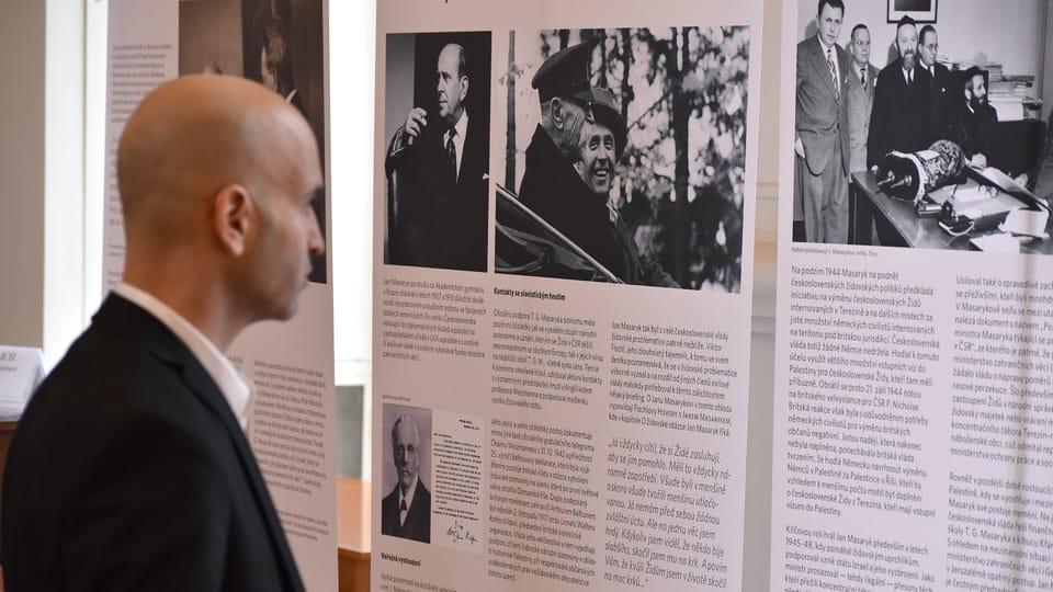 'Masaryk and The Holy Land',  photo: Ondřej Tomšů