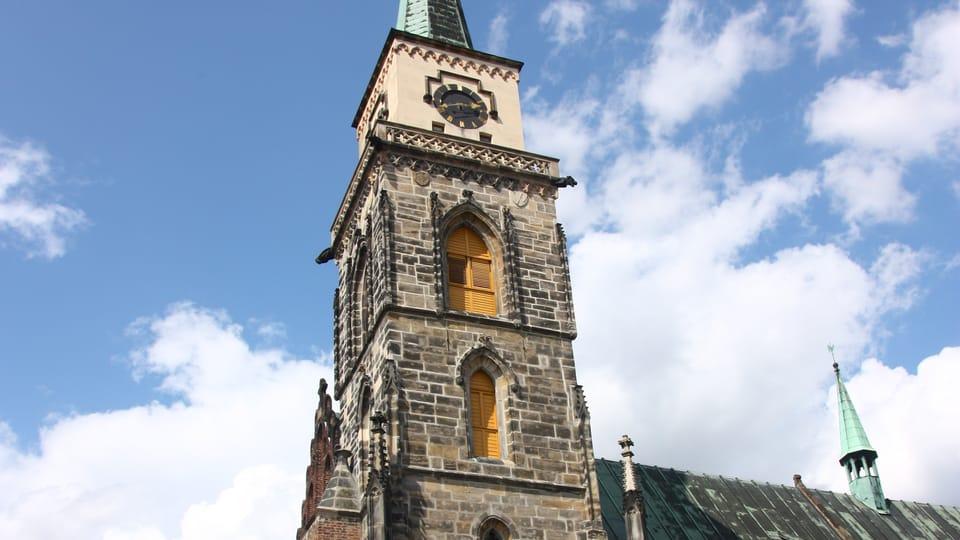 Church of St. Giles,  photo: archive of Radio Prague