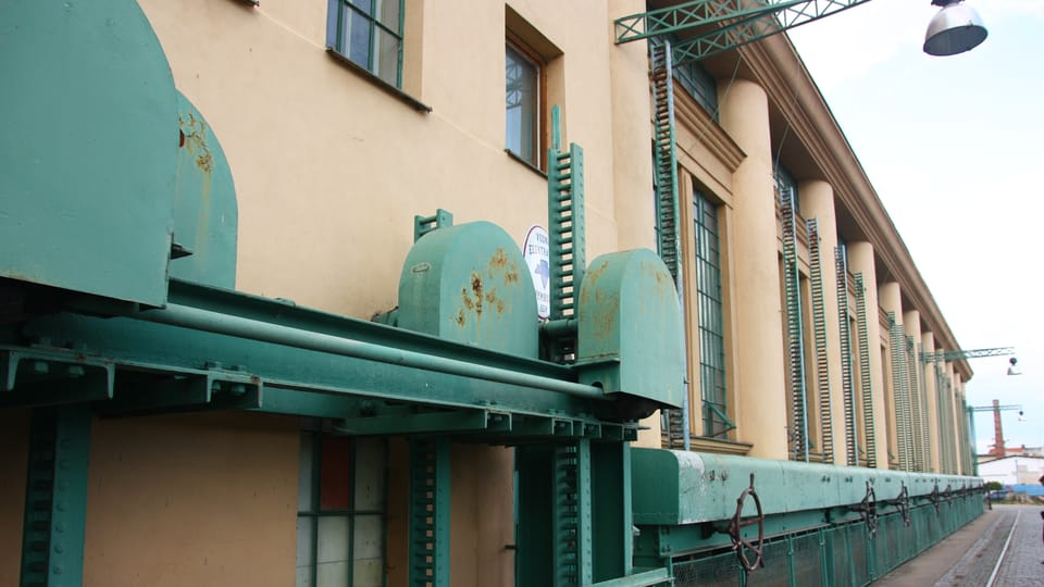 Hydroelectric Power Plant,  photo: archive of Radio Prague