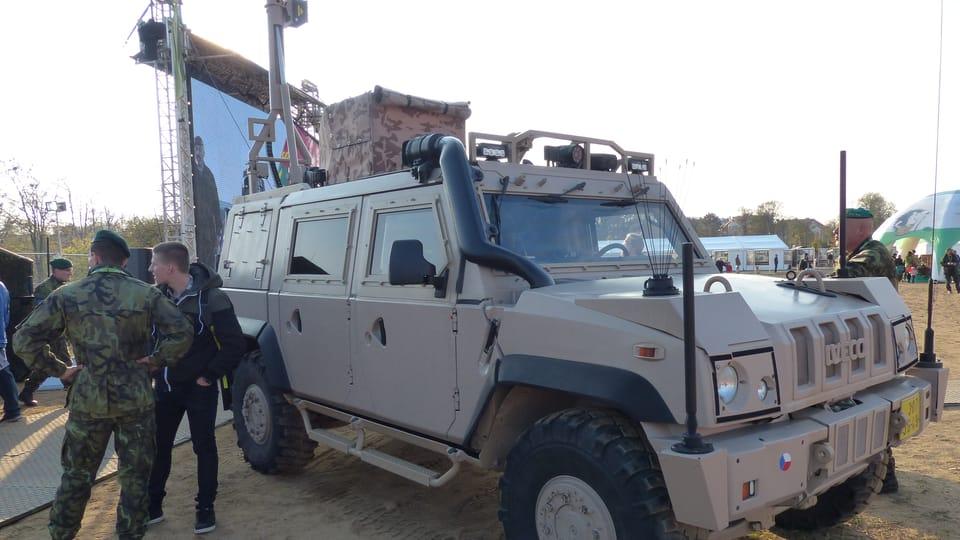 Specialised IVECO armoured vehicles,  photo: Klára Stejskalová