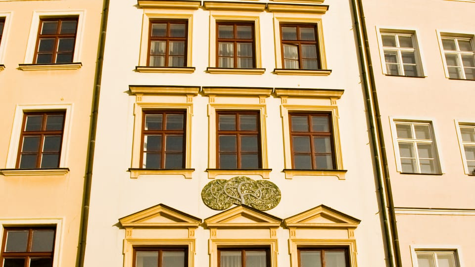 Olomouc is full of well restored houses of wealthy burgers,  photo: Vít Pohanka