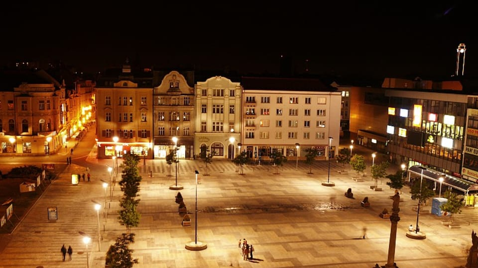 Ostrava,  Masaryk square,  photo: LabBrab,  CC BY-SA 4.0