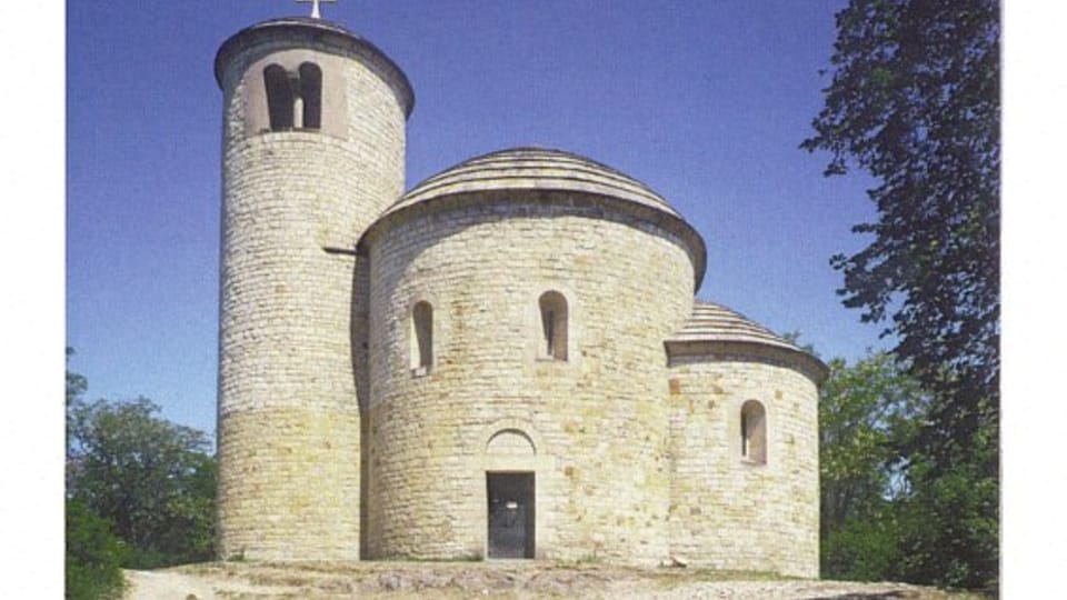 Rotunda of St. George and St. Adalbert - Mount Říp,  photo:  CzechTourism