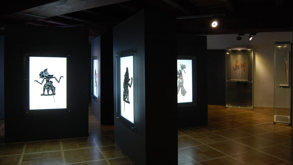 Permanent exhibition - The Shadow puppets exhibition,  photo: Ivana Krennerová / Chrudim Puppetry Museum