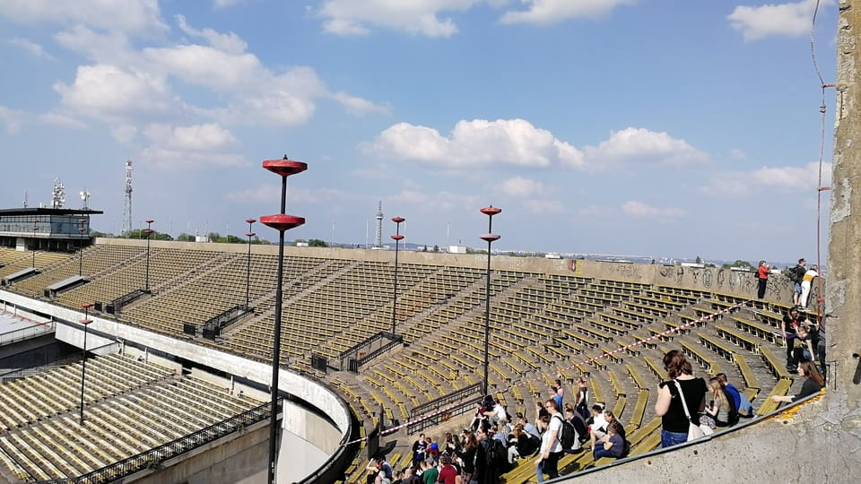 Strahov stadium,  photo: Štěpánka Budková