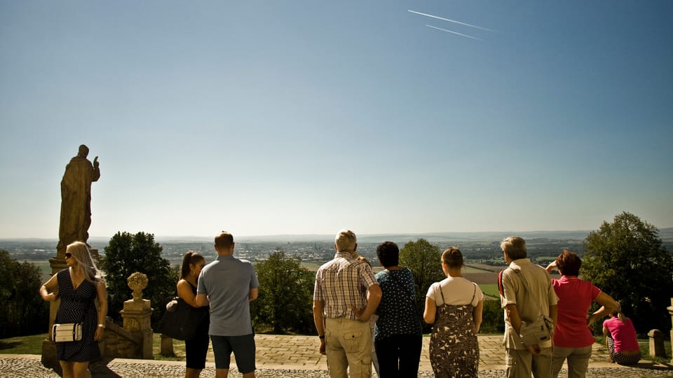 Enjoying the view from Holy Hill,  photo: Vít Pohanka