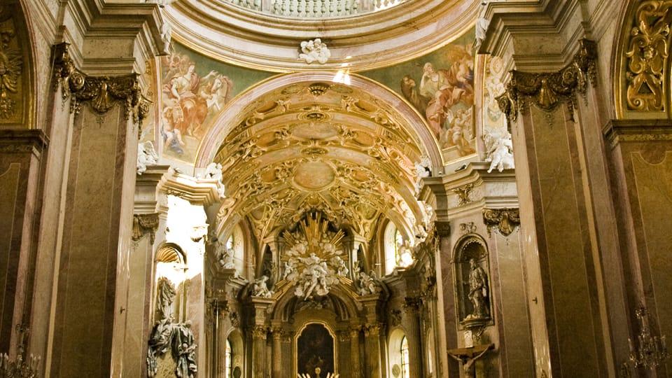 Baroque splendor of Pilgrimage Church of Our Lady on Holy Hill,  photo: Vít Pohanka