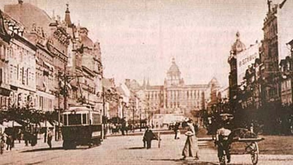 The Wenceslas Square in 1985,  photo: MF Dnes,  31.8.2006