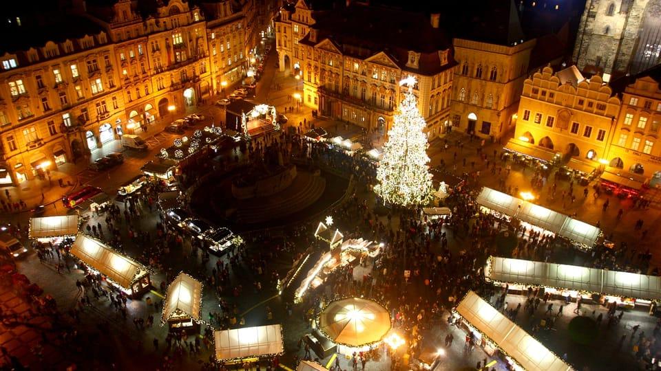 Christmas market in Old Town Square,  photo: Štěpánka Budková