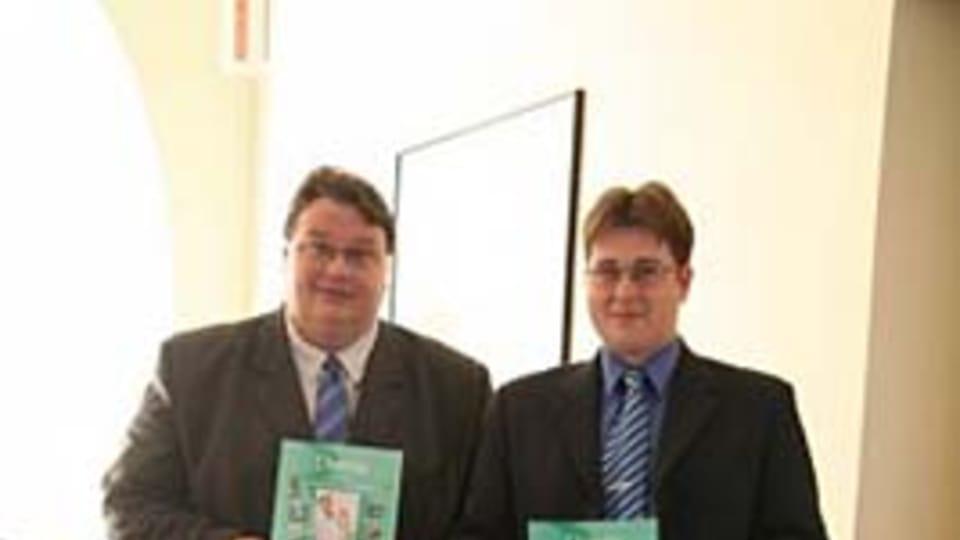 Jiří Škoda and Pavel Doulík,  photo: Blesk,  Jakub Červenka