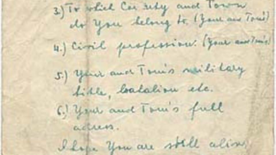 Letter from Prague