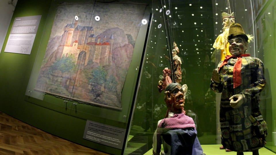 Permanent exhibition - The Vaudeville puppets,  photo: Marie Sieberová / Chrudim Puppetry Museum