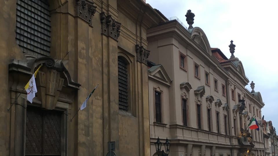 Italian Embassy,  photo: Tom McEnchroe