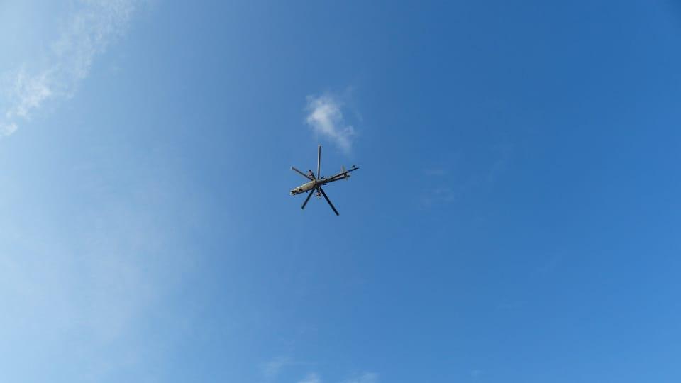 Helicopter,  photo: Klára Stejskalová