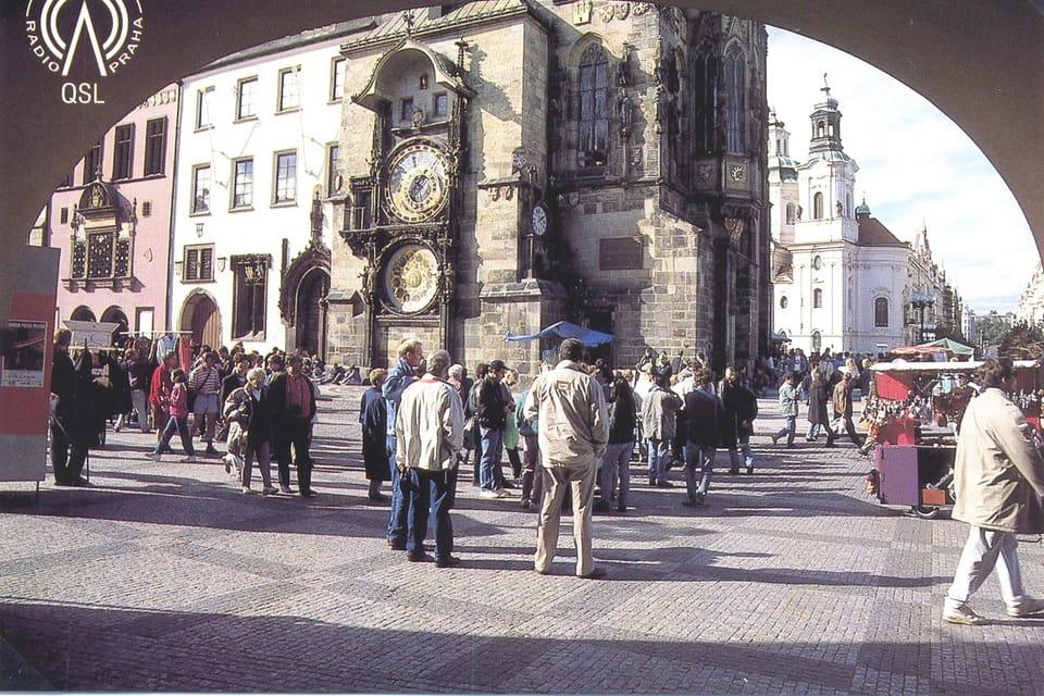 QSL card  (1995) | Photo: Czech Radio