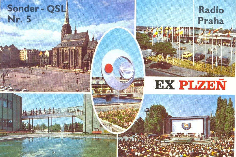 QSL card  (1980) | Photo: Czech Radio