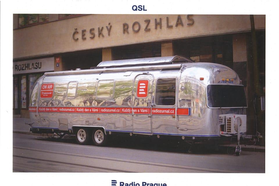 Airstream - promotional caravan,  photo: Khalil Baalbaki