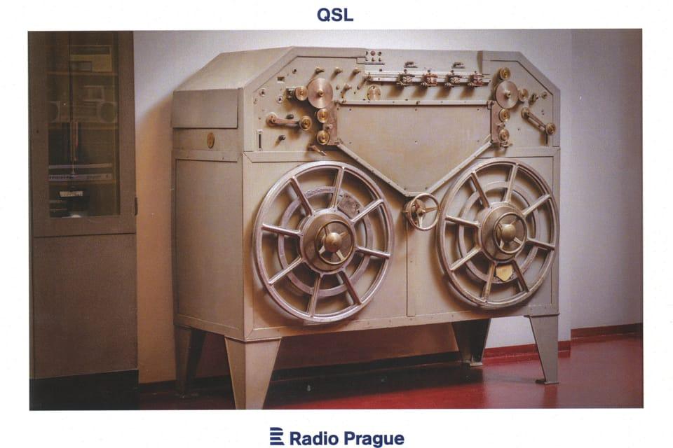 Blattnerphone - recording machine,  photo: Khalil Baalbak